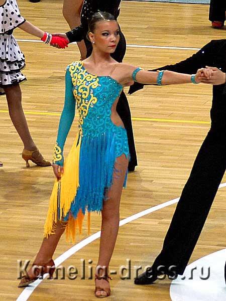 Комиссионные платья для бальных танцев